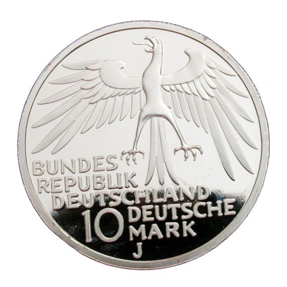 1972 Munich Olympic Games Commemorative Silver Coin