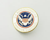 US Federal Police Badge Brooch Pin Mini Version