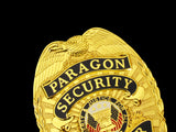 US White House Paragon Security Officer Badge Solid Copper Replica Movie Props