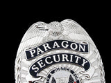 US White House Paragon Security Guard Badge Solid Copper Replica Movie Props #835