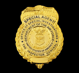 US AFOSI/OSI Air Force Office of Special Investigations Special Agent Badge Replica Movie Props