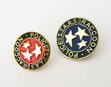 Resident Evil Stars S.T.A.R.S. Raccoon Police Badge Lapel Pin Movie Props