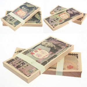 Japanese Yen JPY Banknotes Paper Play Money Movie Props