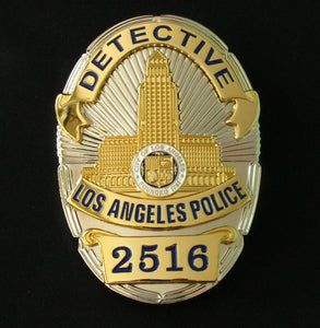 LAPD Police Badge 2516 1