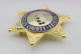 LASD Los Angeles County Sheriff/Deputy Sheriff Bear Badge Brooch Pin Replica Cosplay Movie Props