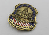 1993 US President Clinton Inauguration Metropolitan Police D.C. Badge Replica Movie Props