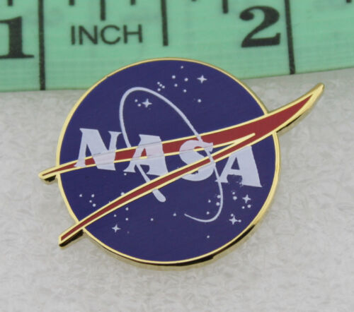NASA Vector Logo Lapel Pin Movie Props