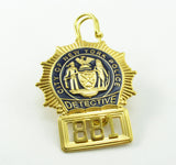 NY New York Detective Police Badge Replica Movie Props *Customizable Badge Number*