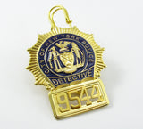 NYPD Badge 9544