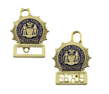 """NYPD PLUS"" New York Detective Police Badge Replica Movie Props *5 Digit Custom Number Only*"