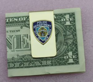NYPD New York City Police Department Badge Money Clip