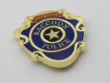 RPD Resident Evil Biohazard Raccoon S.T.A.R.S Detective Police Badge
