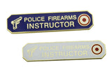 Police Firearms Instructor Citation Bar Uniform Honor Lapel Pin