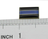 Thin Blue Line Police Citation Bar Cops Merit Award Lapel Tie Pin