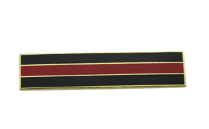Thin Red Line Firefighter Citation Bar Merit Award Commendation Lapel Pin