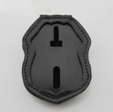 Genuine Leather Inset Type Holder/ Holster/ Wallet For US Federal Police Badges