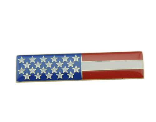 American Flag Patriot Citation Bar Uniform Lapel Pin