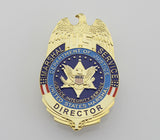 US Marshal Service Director/Deputy/Chief Deputy/ Badge Replica Movie Props