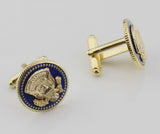 US President Badge Cufflinks/ Lapel Pin/ Tie Clip