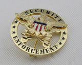 US Security Enforcement Badge 2