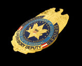 US Marshal Serviece Supervisory Deputy Eagle Badge Replica Movie Props