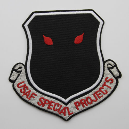 USAF Intelligence Special Projects Nro A Division Patch Black OPS Area 51 Patch