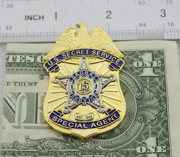 US USSS Badge Money Clip