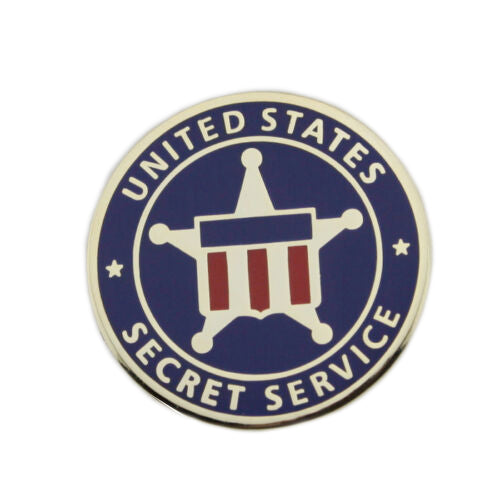 London Has Fallen Mike Banning USSS US Secret Service Lapel Pin Movie Props