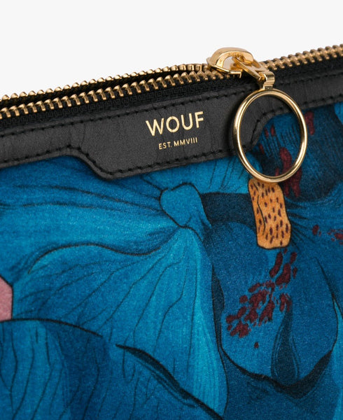 "-50% - WOUF ""ORCHIDÉE"" BEAUTY BAG, Velvet / Samt"