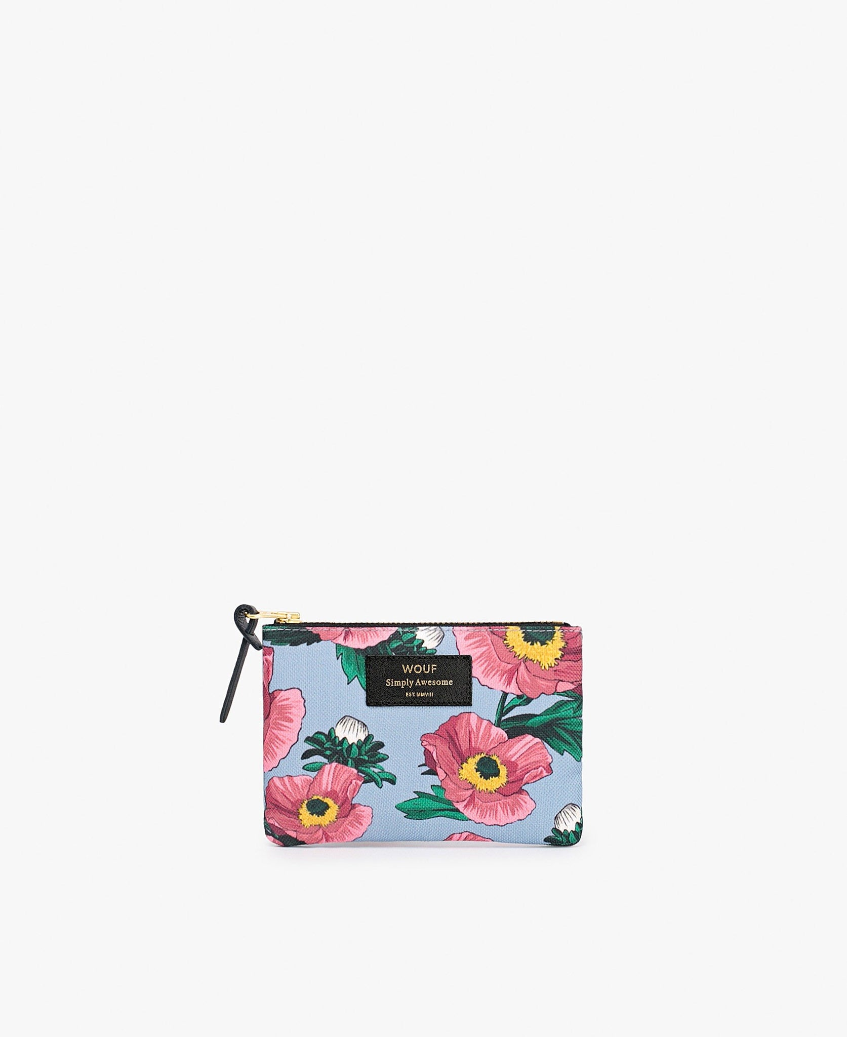 "WOUF ""FLOWERS"" Small Pouch Bag"