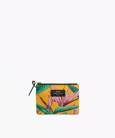 "EINZELSTÜCK!! WOUF ""BIRD OF PARADISE"" Small Pouch Bag"