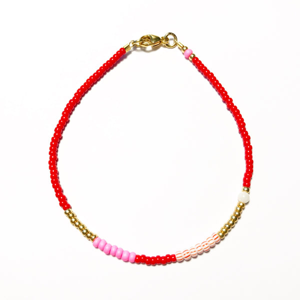 "Armband ""LIGHTRED"" ROT"