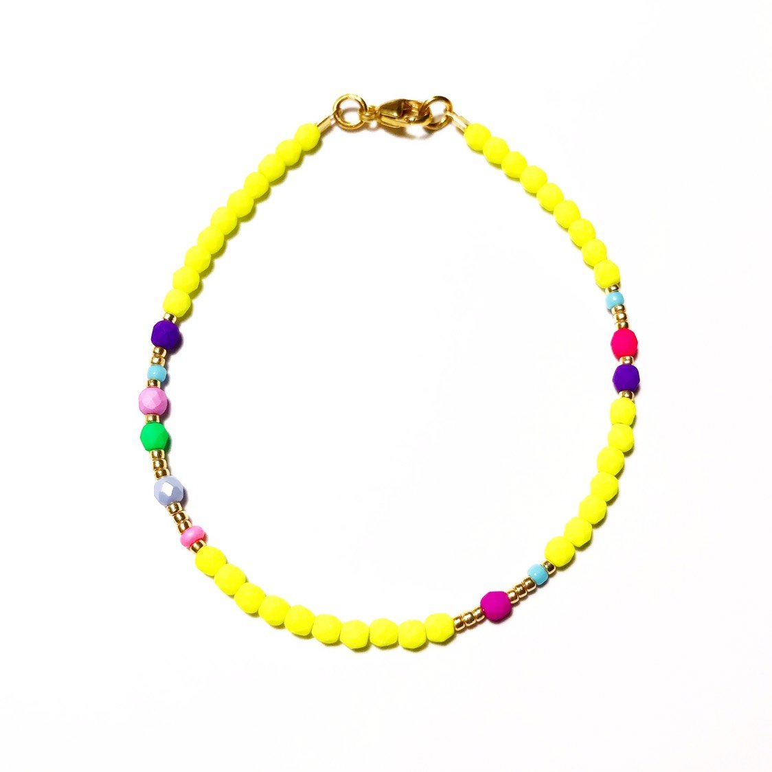 "Armband ""NEONY YELLOW"""