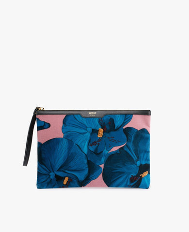 "-40% - WOUF ""ORCHIDÉE"" Night Clutch, Velvet / Samt"