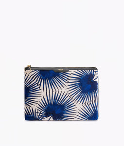 "WOUF ""BLUE PALMS"" iPad Case, Velvet / Samt"