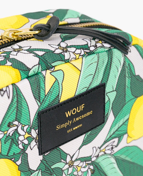 "WOUF ""LEMON"" Big Beauty Bag"