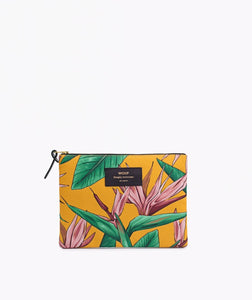 "EINZELSTÜCK!! WOUF ""BIRD OF PARADISE"" Large Pouch Bag"