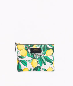 "-40% - LAST ONE!! WOUF ""LEMON"" Large Pouch Bag"