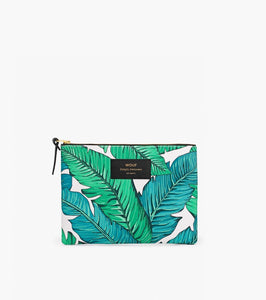 "EINZELSTÜCK!! WOUF ""TROPICAL"" Large Pouch Bag"