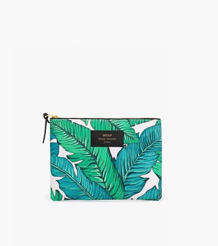 "WOUF ""TROPICAL"" Large Pouch Bag"
