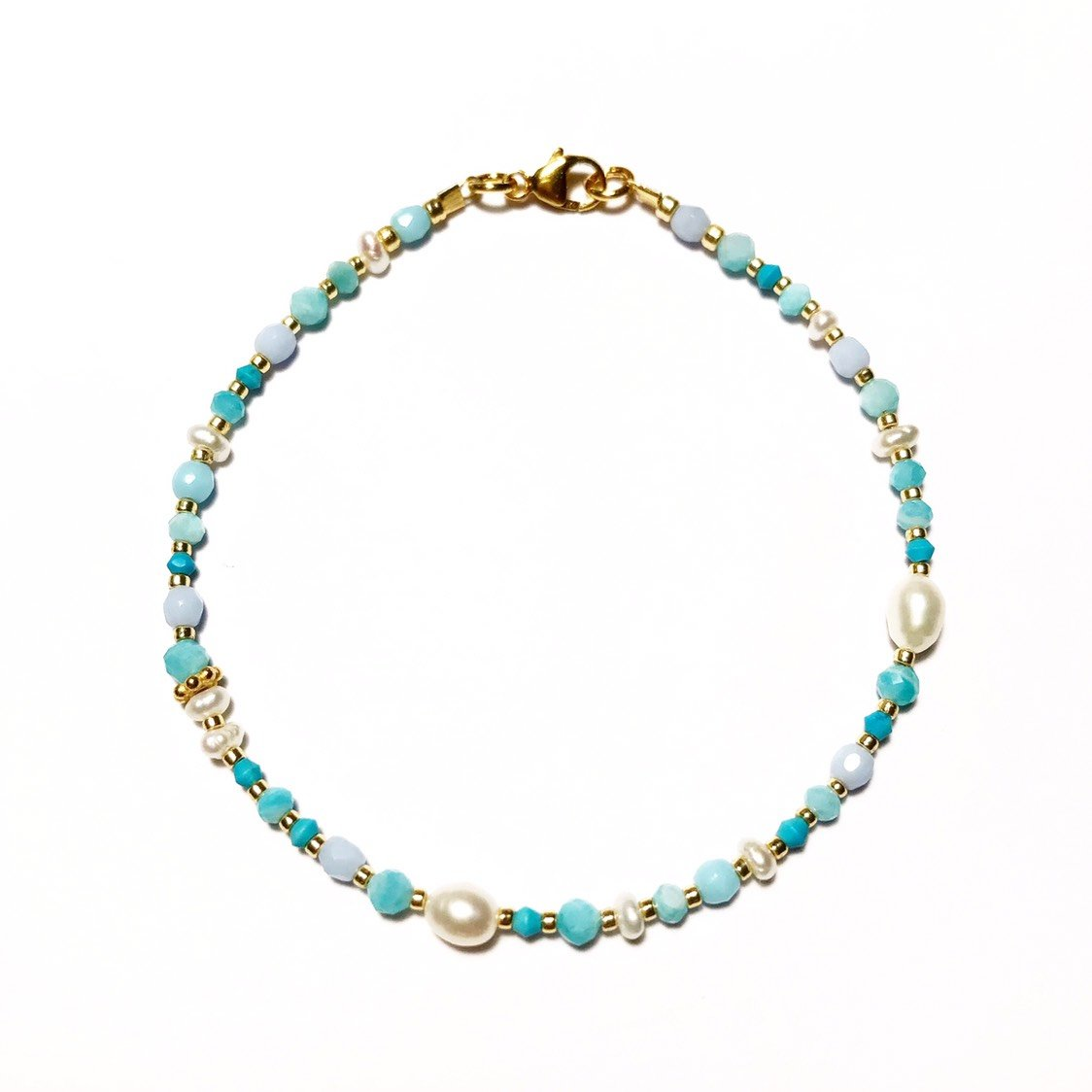 "Armband ""TURQUOISE PEARL"""