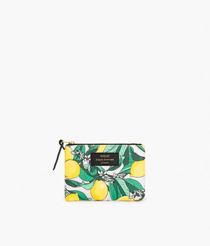"LAST ONE!! WOUF ""LEMON"" Small Pouch Bag"