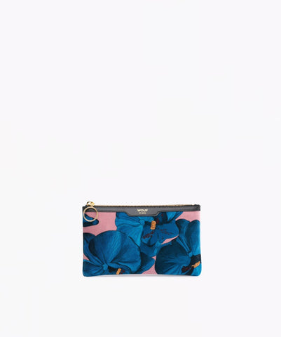 "-40% - WOUF ""ORCHIDÉE"" Pocket Clutch, Velvet / Samt"