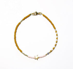 "LAST ONE!! Armband ""YELLOW STAR"""