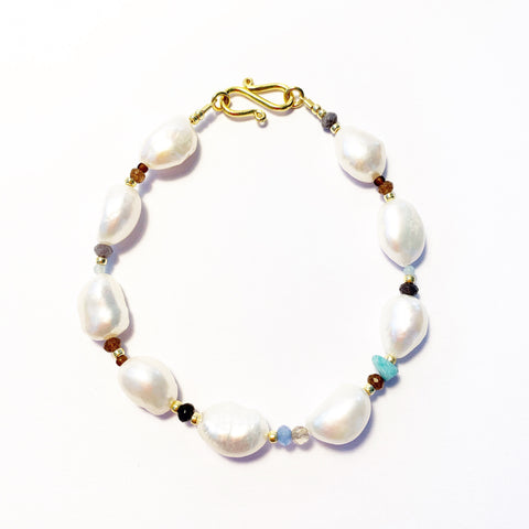"Armband ""PEARLS BAROQUE"""