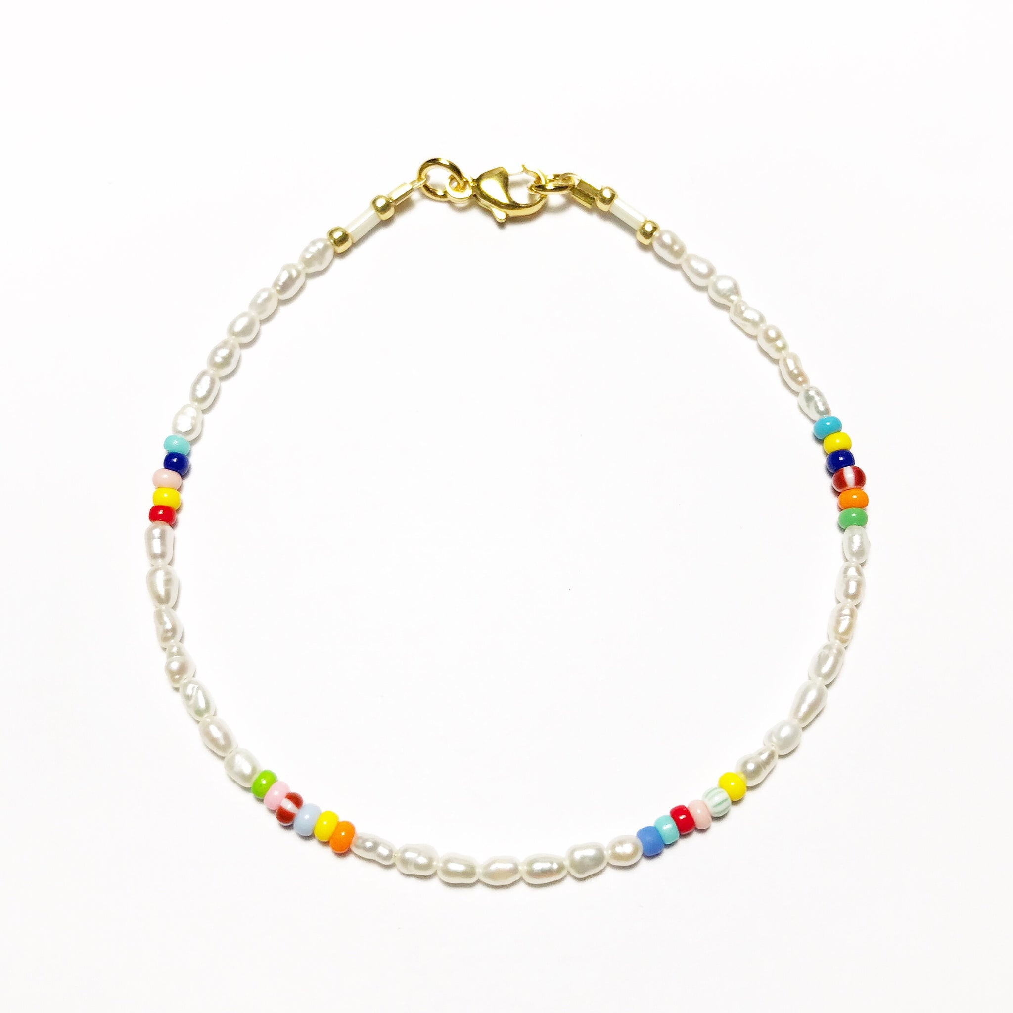 "NEU!! LIMITIERT!! Armband ""PEARLS & SOME COLORS"""