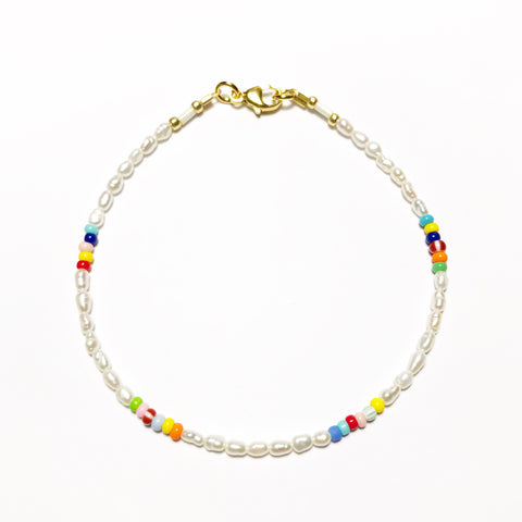 "NEU!! Armband ""PEARLS & SOME COLORS"""