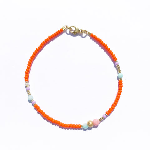 "NEU!! Armband ""GOLDEN ORANGE"""