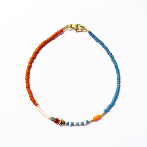 "LAST ONE!! LIMITIERT!! Armband ""LOVELY AUTUMN ORANGE"""