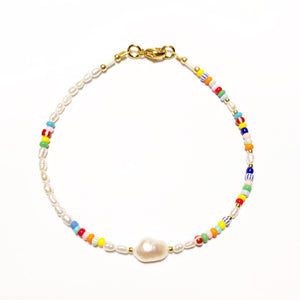 "NEU!! Armband ""PEARLY COLORS"" (Bekannt aus der ""InStyle"" Juni 2020)"